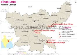 map of be colleges in jharkhand top mbbs colleges in