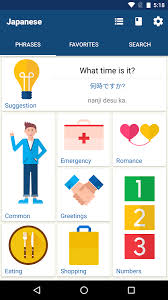 japanese language apk learn japanese phrases japanese translator android apps on