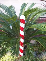 Candy Cane Outdoor Decorations Christmas Candy Cane Post Candy Canes Tutorials And Pvc Pipe