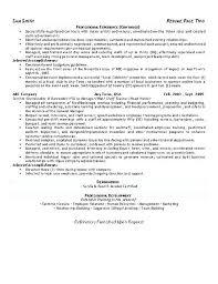hospitality resume exle exle management resume operations manager resume sle