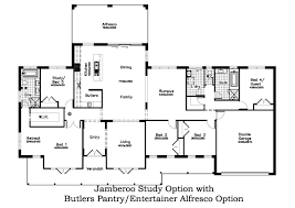 Butlers Pantry Floor Plans by Jamberoo Barrington Homes