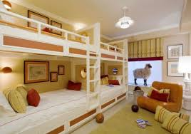 Bunk Beds For Four A SpaceSaving Solution For Shared Bedrooms - In wall bunk beds