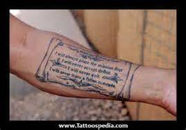 outer forearm quote tattoos for quotes word