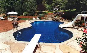 Backyard Inground Swimming Pools Inground Pools Spas Saunas