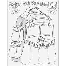 back to school all about me soccer doodle activity