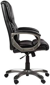 Executive Chairs Manufacturers In Bangalore Amazonbasics Full Back Executive Chair Black Amazon In Home