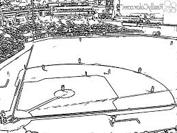 coloring pages of baseball coloring pages kids