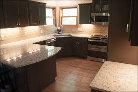 Stain Oak Kitchen Cabinets Kitchen White Kitchen Cabinets With Dark Floors Gray Countertops