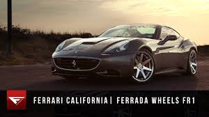 Ferrari California 2013 - 2013 ferrari california ferrada wheels fr1 machine silver youtube