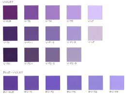 colour shades with names shades of purple color chart