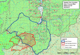 Oregon Fires Map Saddle Complex Forest Fire Map U2013 Aug 24