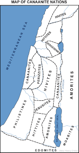 Blank Map Of Egypt And Surrounding Countries by Map Of The Canaanites Bible History Online