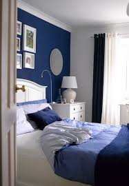 dark blue room ideas best blue and white bedroom designs home