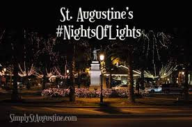 st augustine lights tour st augustine nights of lights 2017 roundup best christmas events
