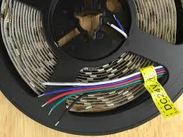 rgbw led strip 24 volts hl24vrgbcw ip20 hi line cyprus