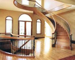 Custom Staircase Design Curved Staircases Lutes Custom Woodworking Design Consultants