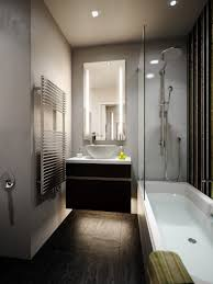 Bathroom Frameless Mirrors Bathroom Exquisite Vertical Frameless Mirror Dashing Wooden