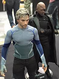 quicksilver movie avengers hot toys quicksilver nick fury revealed photos marvel toy news