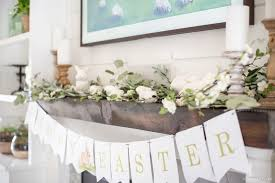 easter mantel decorations mantel decor easter decor inspiration hendrick