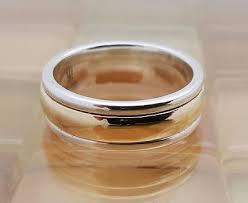 avery wedding bands avery 14k gold twist silver wedding band ring size 7 5
