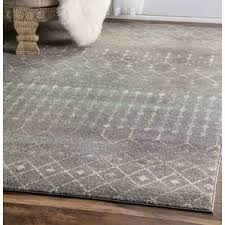 Solid Gray Area Rug by Modern Area Rugs Allmodern