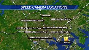 baltimore red light camera speed camera tickets red light cameras comi wbal radio 1090 am