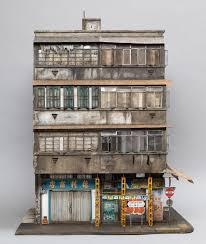 Miniature by Miniature Displays Of Contemporary Urban Buildings By Joshua Smith