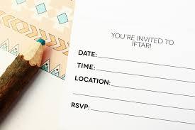 Invitation Card Free Template Free Ramadan Printable Nomad Iftar Invitation Hello Holy Days