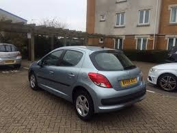 peugeot cat peugeot 207 5 door silver 2009 cat c excellent condition 30 000