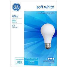 ge 60w light bulbs ebay
