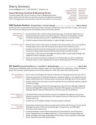 Functional Summary Resume Examples by Technical Writer Functional Resume Sample Http Www