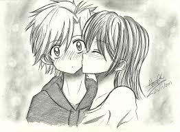 imagenes anime kiss anime love kiss drawing at getdrawings com free for personal use
