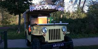 jeep van truck the kitchen of the unwanted animal u0027 may be the craziest food truck