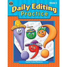 daily editing practice grade 3 tcr3278 teacher created resources