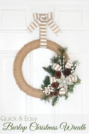 burlap christmas wreath burlap christmas wreath tutorial of family home