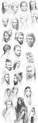 Mens Face Shapes And Hairstyles by Best 25 Face Sketch Ideas On Pinterest Drawing People Drawing