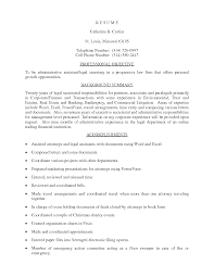 Free Sample Resume Job Objective      For Administrative Assistant       resume examples administrative