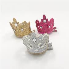 hair grips 20pcs lot glitter crown hair tiara side hairpins princess