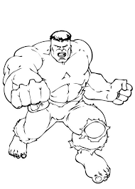 superhero coloring picture