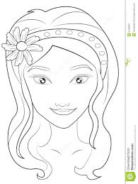 blank face coloring printable face coloring pages