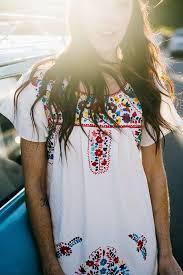el sol bright colored vintage style mexican women u0027s dress gunn