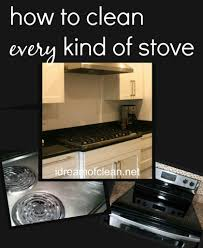 how to easily deep clean every kind of stove top