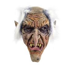 Scary Mask Goblin Old Man Gnome Rubber Horror Scary Mask Fancy Dress