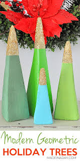 sparkling modern tree decorations made in a day