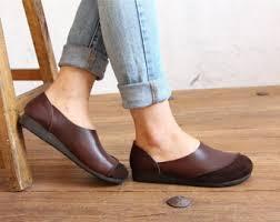 Black Comfort Shoes Women Comfortable Shoes Etsy
