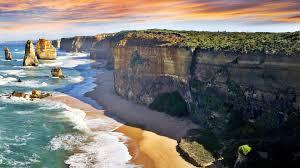 sand australia victoria water natural beach national park white