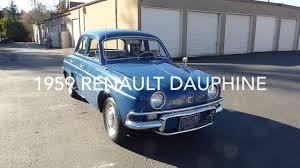 1959 Renault Dauphine Youtube