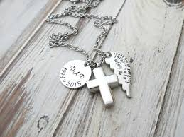 personalized remembrance jewelry personalized memorial necklace mens
