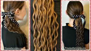 noodle curls tutorial no heat curls youtube
