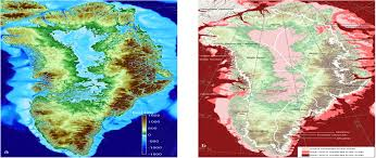 Greenland Map More Greenland Glaciers Threatened By Climate Change Than
